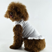 Blank Dog T-Dress - white