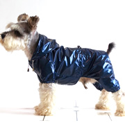 top grade RibStop double-layer four-legged raincoat