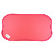 Pink Environmental wear-resistant Pure PVC Pet Feeding Pad