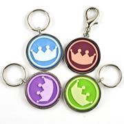 Crown Image Metal Dog Tags