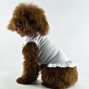 Blank Dog T-Dress - white