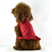 Blank Dog T-Dress - red