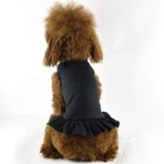 Blank Dog T-Dress - black