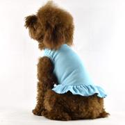 Blank Dog T-Dress - blue