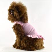 Blank Dog T-Dress - pink