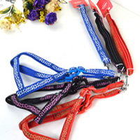 Veins Pattern Dog Harnesses and Dog Leashes Set Soft Foam Lining